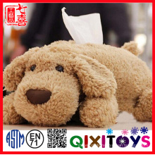 Restaurant series decoration new type napkin plush tissue boxes Soft toys