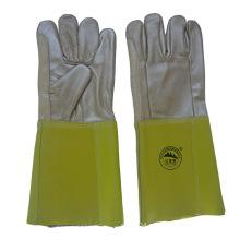 Mobiliário de couro luvas de segurança de protecção de mão de segurança