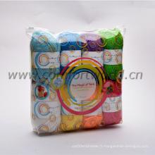 Tricoter des fils avec un bon emballage