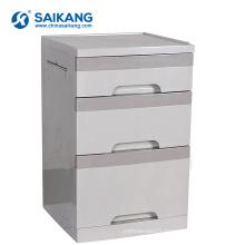 SKS008-1 Cabinet de chevet de stockage d'ABS de trois tiroirs