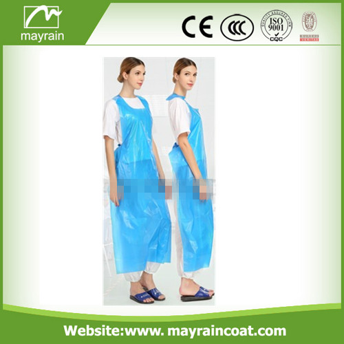 PE Cooking Apron with Belt