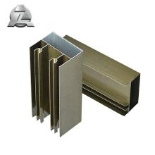 Glissière de menuiserie en aluminium standard et sur mesure