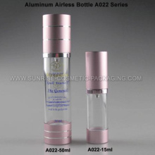 15ml 50ml Aluminium Airless Creme Flasche