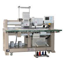 Einzelkopf-Chenille-Handtuch Kettenstich / Cording Coiling / Zwillings-Pailletten computergesteuerte Stickmaschine