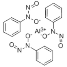Sal N-Nitroso-N-fenilhidroxilamina de aluminio CAS 15305-07-4