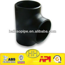 ASTM A234 WPB Carbon steel straight tee