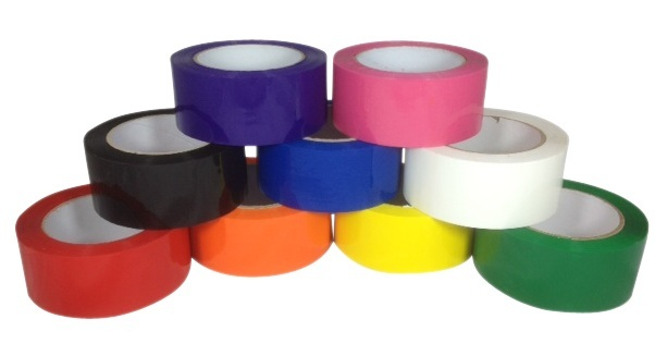 black-blue-red-orange-purple-pink-yellow-white-green-packing-tape