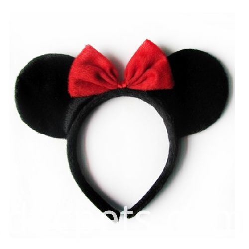 red bow Minnie hairband