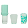 Plastic Double Wall Water Bottle with Loop