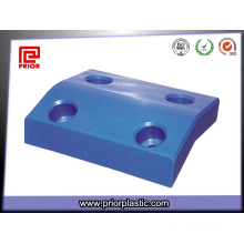 Blue UHMWPE Custom Product with Holes