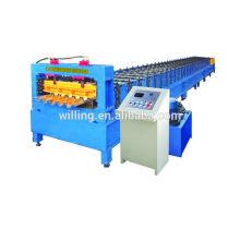 Machine à former le rouleau de plate-forme en acier