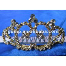 Crstal tiara comb (GWST12-101)