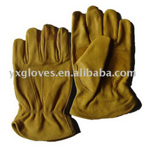 Cow Leather Driver Glove-Safety Glove-Protected Glove-Work Glove-Labor Glove