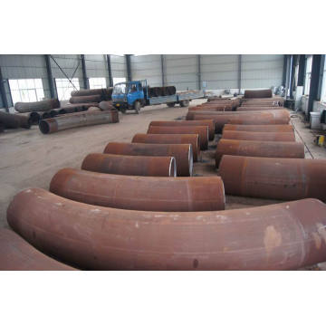 Hot Wall Thick Butt Welded 3d-10d Pipe