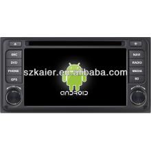 reprodutor de DVD do carro para o sistema Android Toyota ETIOS