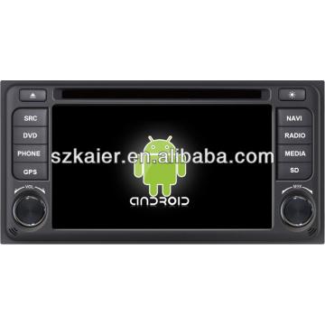 Android System Auto DVD-Player für Toyota ETIOS mit GPS, Bluetooth, 3G, iPod, Spiele, Dual Zone, Lenkradsteuerung