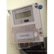 Einphasiges elektrisches Multi-Tarif-Energiezähler
