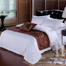 A venda quente da fábrica dirige diretamente o linho usado da roupa de cama do hotel