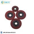 metal / madeira / vidro / aço máquina de polimento e moagem disco de lixamento de corindo preto