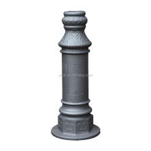 yard lamp post light pole /outdoor cast aluminum poles/cast aluminum lamp post base