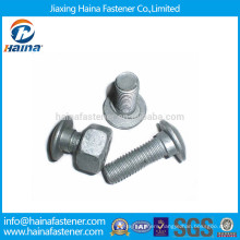 HDG Highway Guardrail Splice Bolts with Nut and Washer