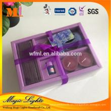 Venta al por mayor Nueva caja de regalo perfumada Velas espirituales Set