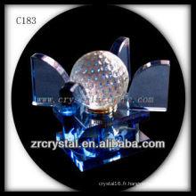 Belle bouteille de parfum en cristal C183
