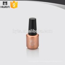 Botella de esmalte de uñas de vidrio de 10 ml para el dedo