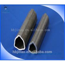 Tubo triangular de acero sin costura