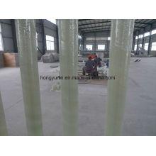 Tubo de plástico reforçado com fibra de vidro caracterizado por anti-corrosão