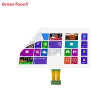 Film transparent tactile interactif de 55 pouces