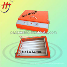 Mini photo polymer plate exposure machine with good quality