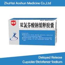 Behandlung Peptic Ulcer Omeprazol Enteric-Coated Kapseln