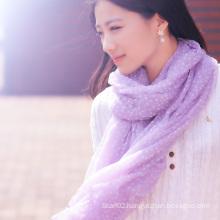 100% Merino Wool Flocking Scarf (12-BR010702-1.4)