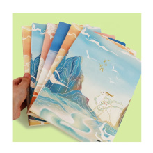 Andstal New Arrived Note Book Notebook Chinese Style School Note Book 80Sheets Note Book A5