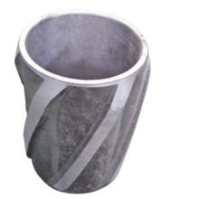 Spiral Vane Cast Aluminum Rigid Casing Centralizer