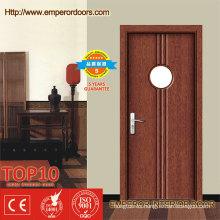 ISO y certificado CE Interior de PVC puertas de vidrio