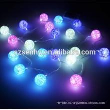 Plástico calle led esfera impermeable luz