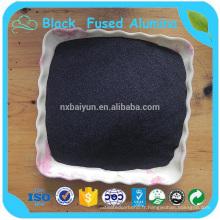 Chine Fabricant Approvisionnement Prix compétitif Noir Alumine Fused