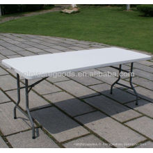 table pliante en plastique extérieure