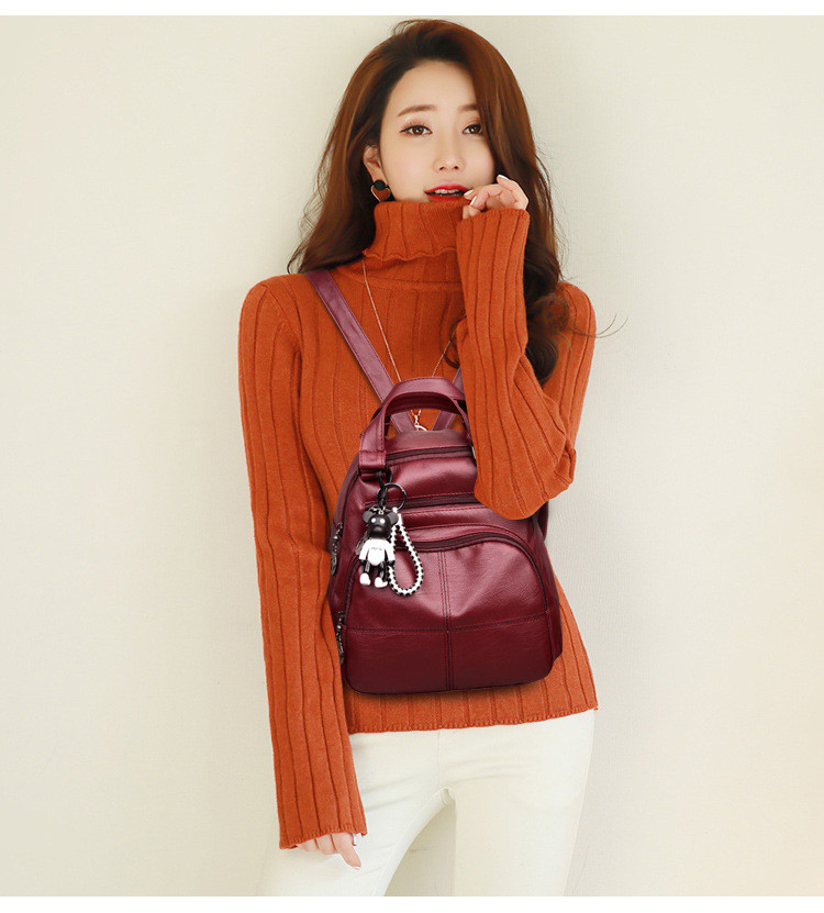 lady double shoulder bags s1813 (8)