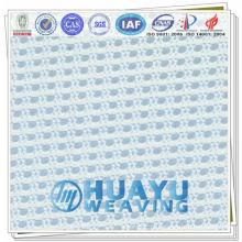 1835 100% poliéster respirável tecido de malha de ar de alta qualidade para sapatos