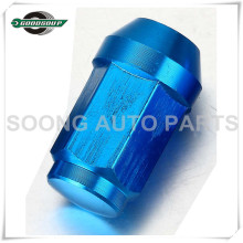 Closed End Racing Aluminum Wheel Lug Nuts Colored Aluminum Wheel Lug Nuts