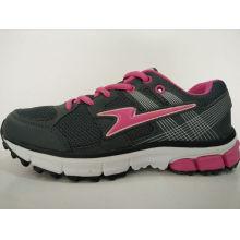 Обувь торговой марки Ladies Black Outdoor Sneaker