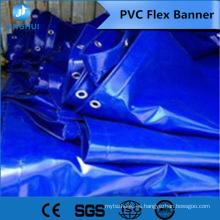retroiluminado Flex banner laminado en frío 510g para la aplicación de publicidad al aire libre