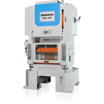 High speed press machine for making eyelet