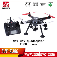 New arrival XK DETECT X380 X380-C FPV GPS 1080P HD RC Quadcopter RTF rc helicopter with camera vs Walkera QR X350