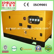 Generador de generador diesel silencioso insonoro CUMMINS del motor 40kw / 50kVA