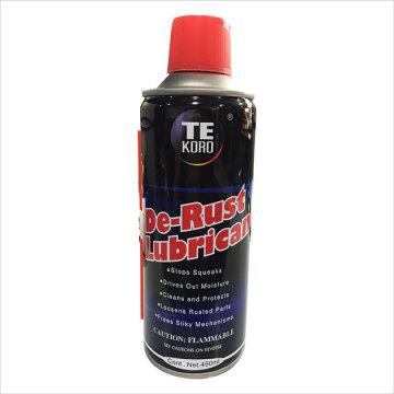 Sprayer Multifunctional Lubricating Oils with Strong Penetrating
