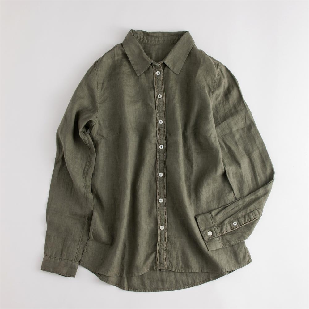 Shell Button Shirt